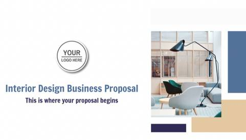 Interior Design Business Proposal Template