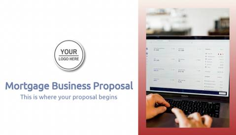 Mortgage Business Proposal Template