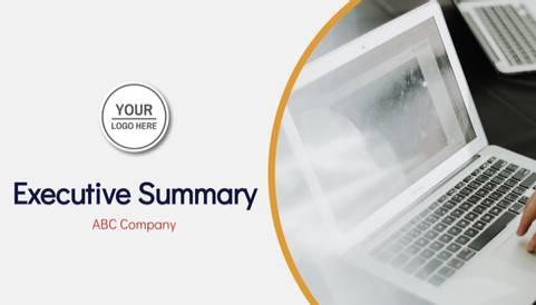 Executive Summary Format Presentation Template