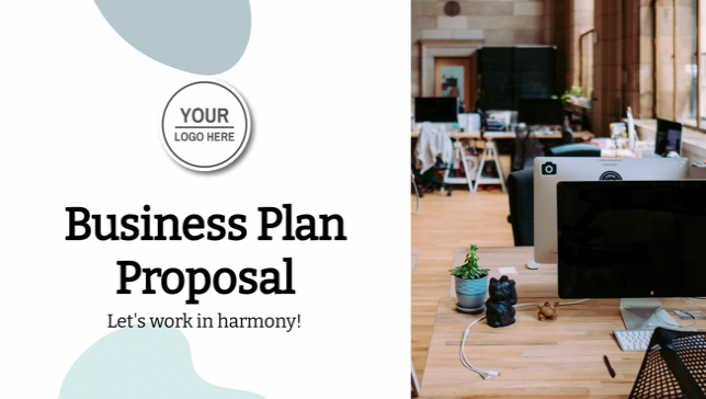 Every business needs a proposal for their growth plans, but who has time to design it? Let Decktopus give you a professional look within minutes and get your success on paper. This is the perfect template for both start ups or established businesses, just change branding according to your clients with the click of a button. Innovation at its finest!