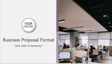 Business Proposal Format Template
