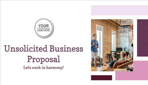 Unsolicited Business Proposal Template