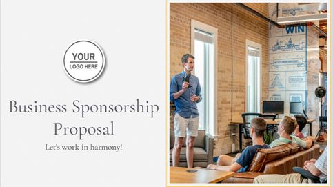 Business Sponsorship Proposal Template