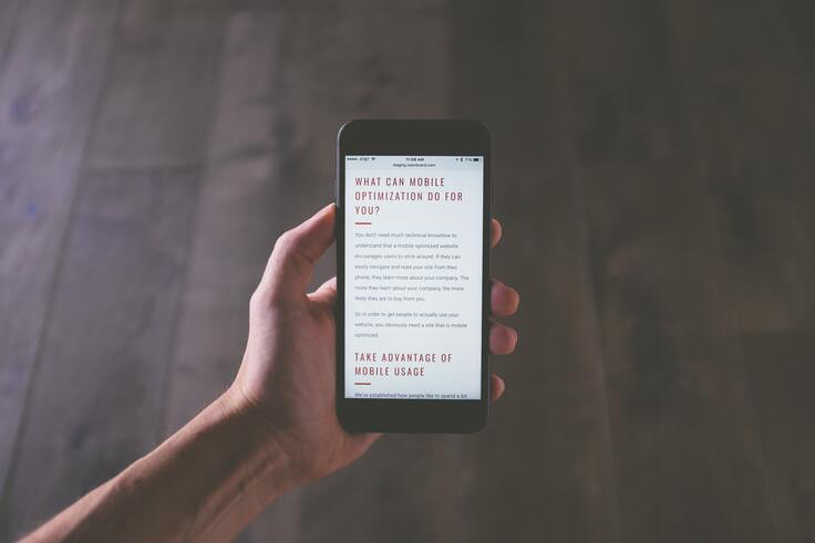 Mobile optimization for digital content strategy