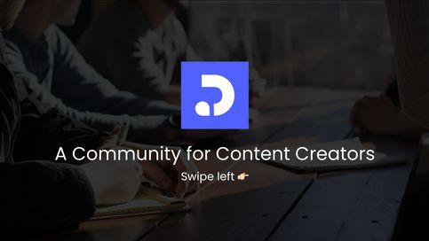 Community for Creators