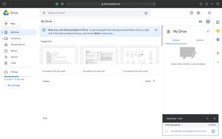 Convert PPT to Google Slides Step 5