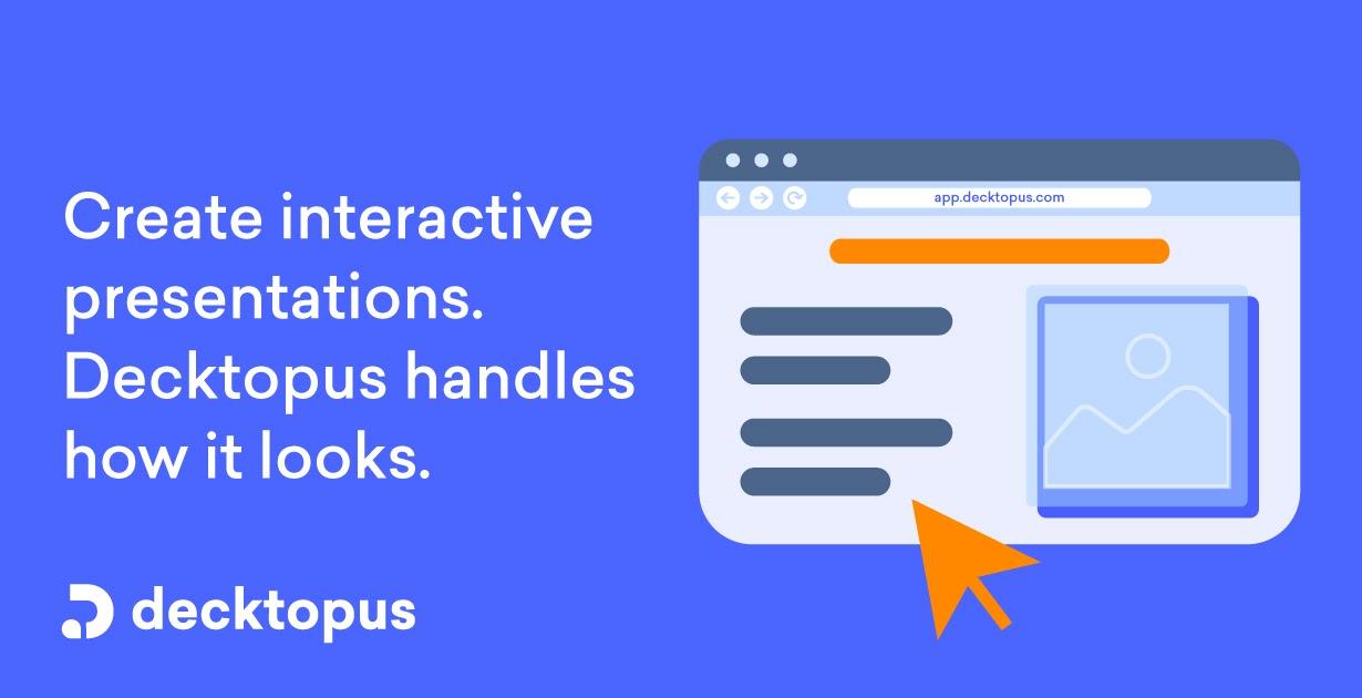 Decktopus Presentation Software