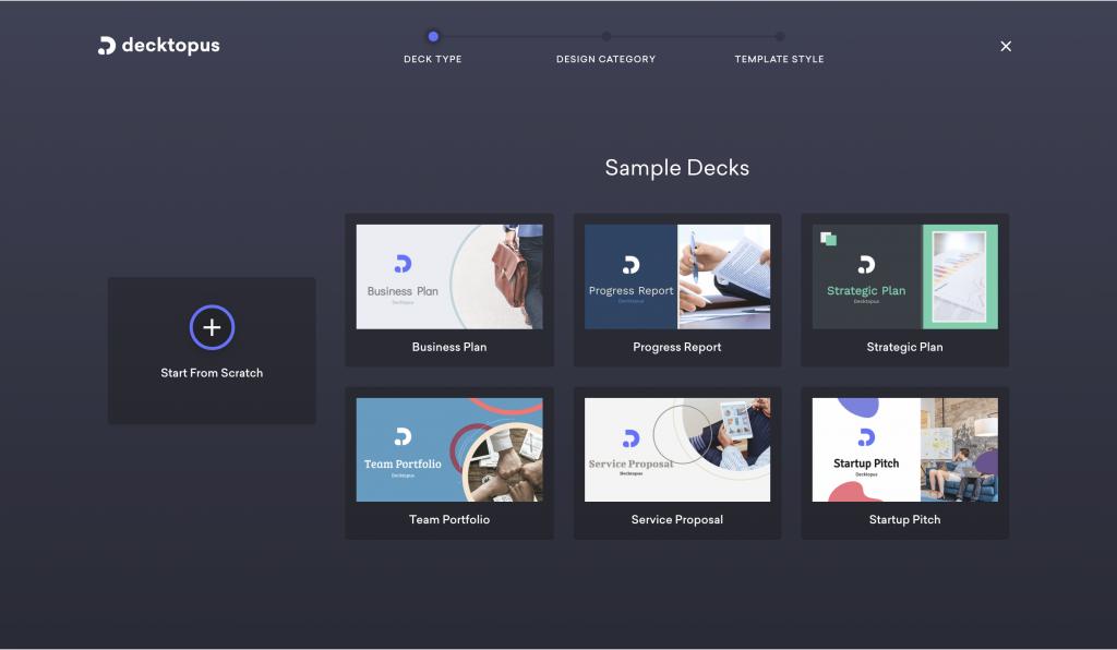 Decktopus Online Presentation Maker