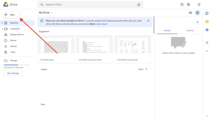 Convert PPT to Google Slides Step 2