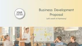 Business Development Proposal Template