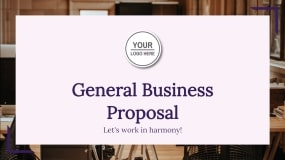 General Business Proposal Template