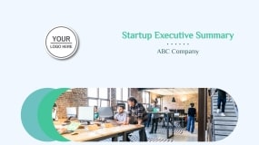 Startup Executive Summary Presentation Template