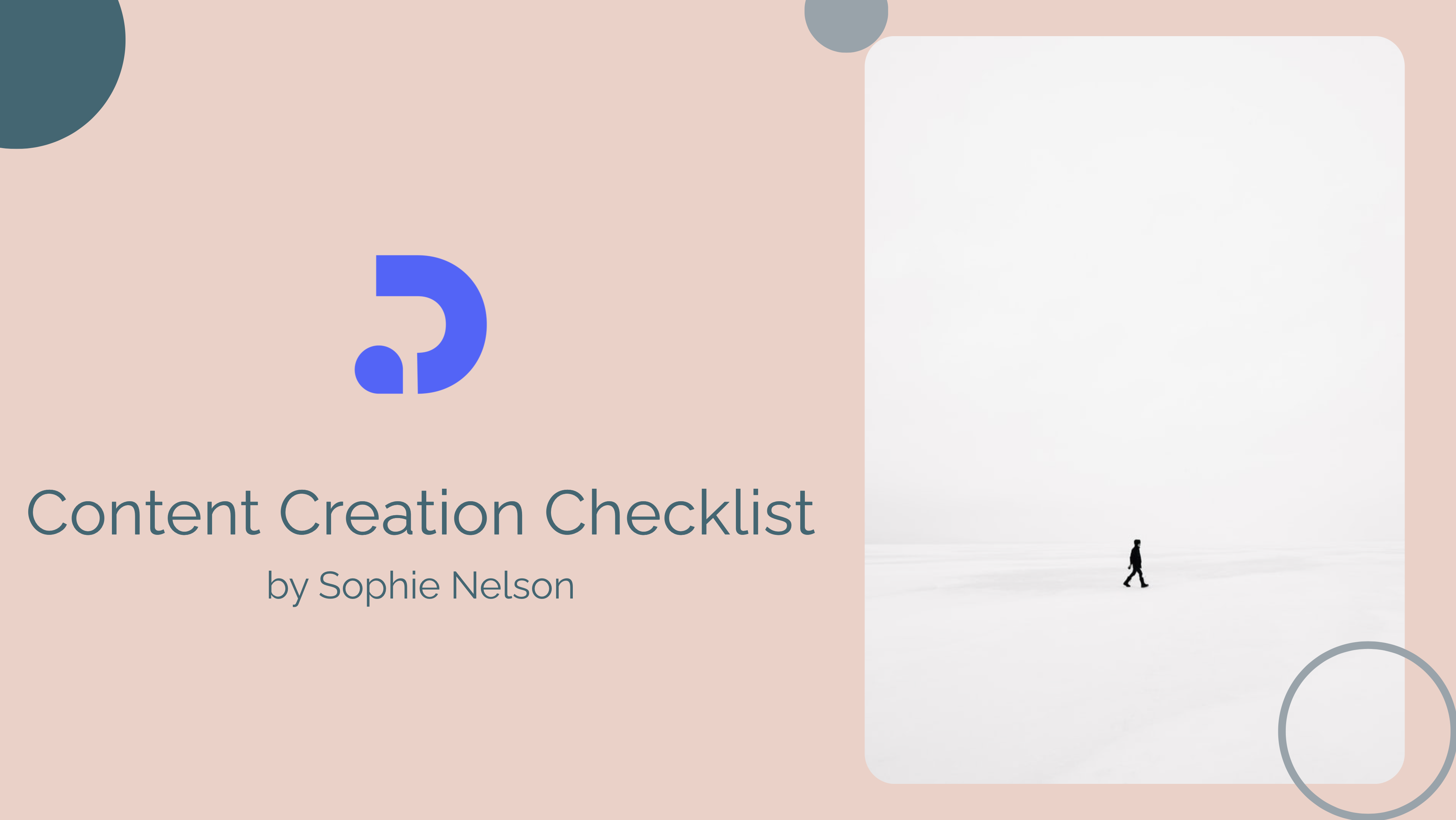 By using this checklist template, you can kickstart a valuable resource library for your audience. These kinds of documents are a great way to attract your ideal customers and get their contact information as a lead generation process. Checklists can be social media engagement checklist, minimalist branding checklist, email marketing checklist and the list can go more...