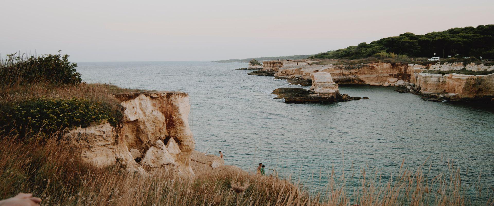 cliffside by ocean
