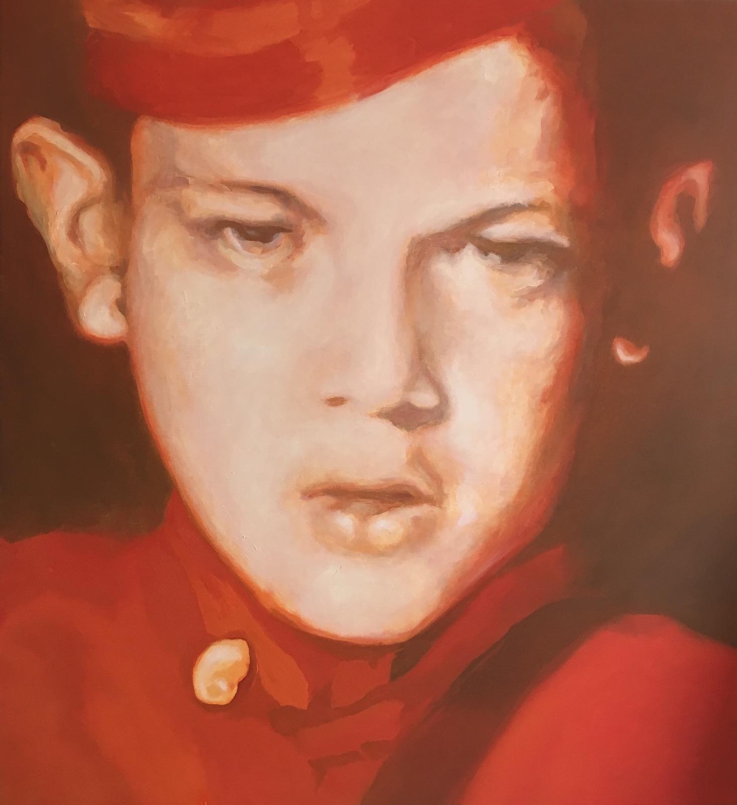 De rode jongen