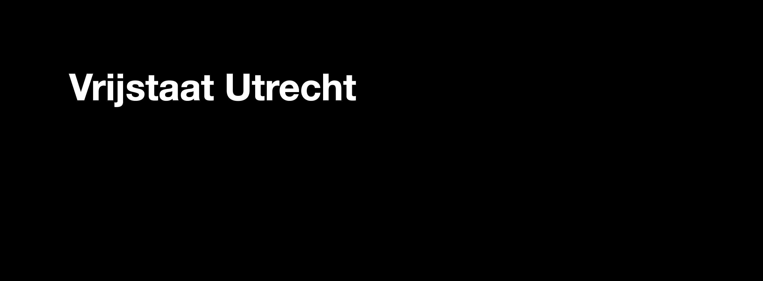 headline to project vrijstaat utrecht by light-up collective