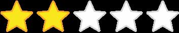 Calificación: 2 estrellas