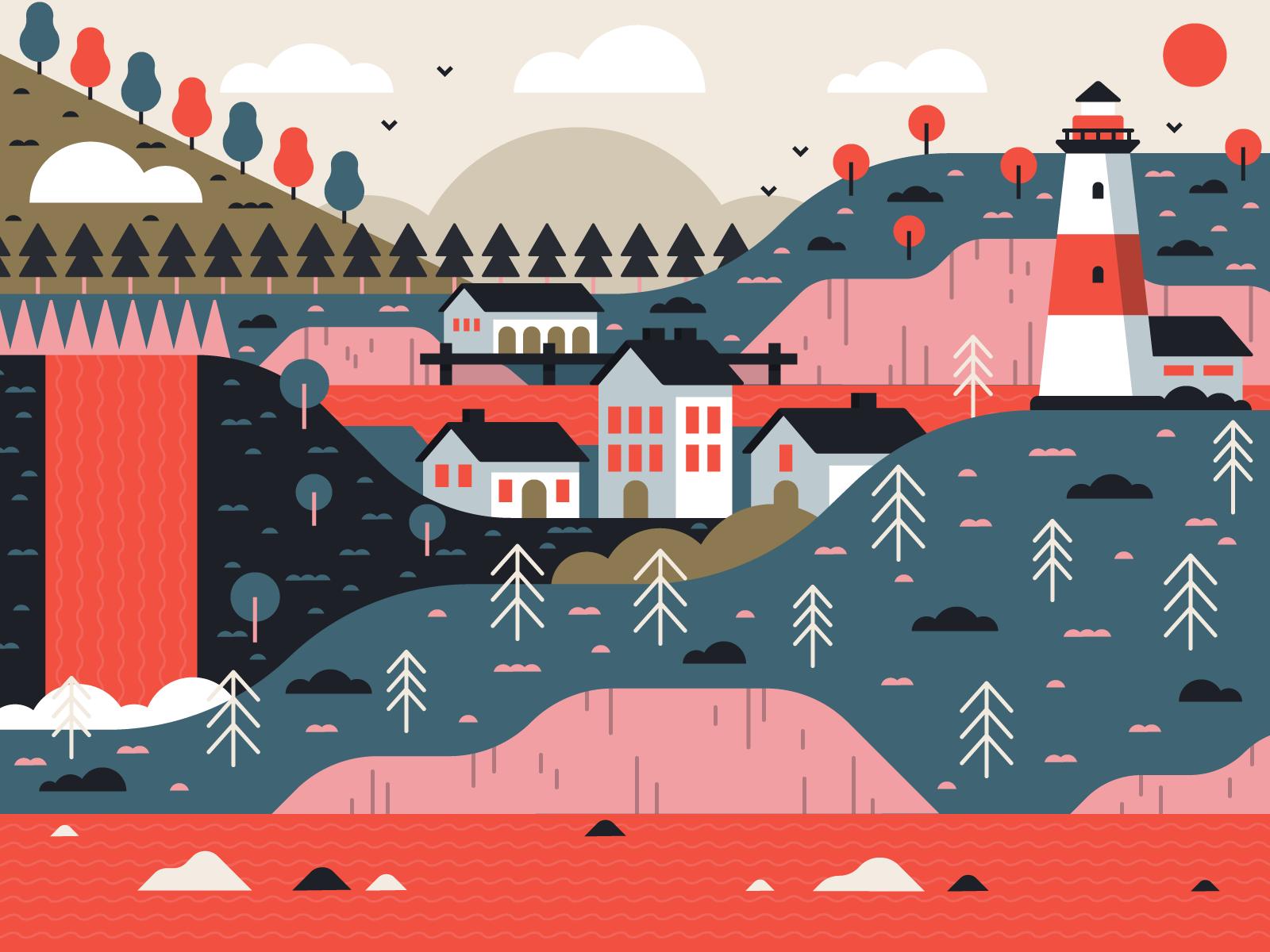 dribbble_fishermans-cove_illustration