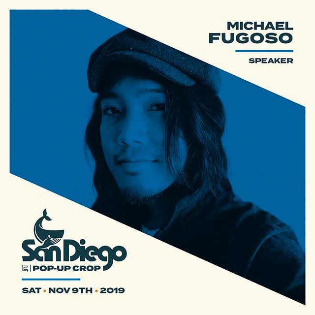 Photo of Michael Fugoso, designer and illustrator from San Diego, Ca.