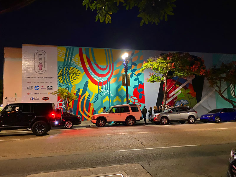 A second mural group from downtown San Diego