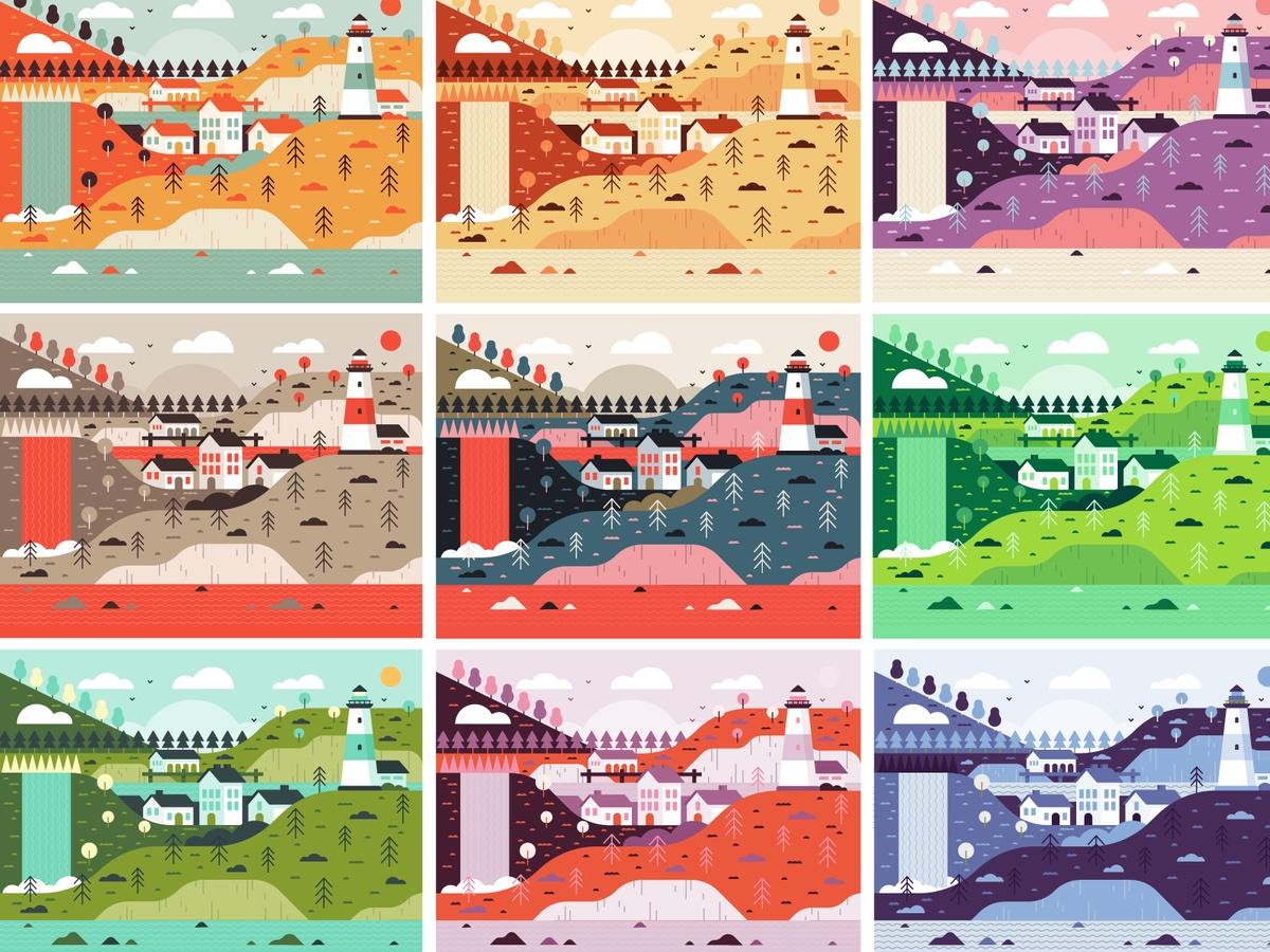dribbble_illustration_city-scape_collage