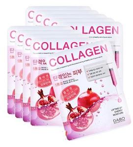 Mặt Nạ Collagen Dabo Trị Nám Dưỡng Trắng Da Hàn Quốc 22g/ Gói