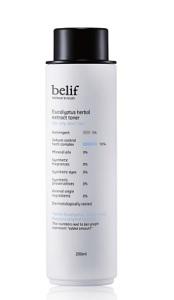 Nước cân bằng khuynh diệp ngăn ngừa mụn cho da dầu Belif Eucalyptus Herbal Extract Toner 200ml