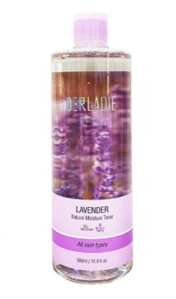 Nước Hoa Hồng Giảm Mụn, Kiềm Dầu Toner Derladie Lavender Natural Moisture 500ml