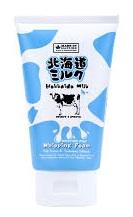 Sữa rửa mặt cho da khô dưỡng ẩm Hokkaido Made In Nature 100g