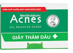 Giấy thấm dầu Acnes Oil Remover Paper 100 Tờ