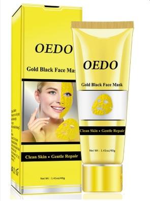 Mặt nạ vàng OEDO lột mụn đầu đen se khít lỗ chân lông dưỡng ẩm