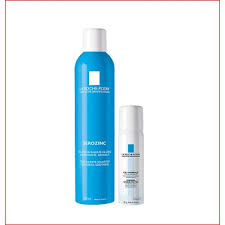 Nước xịt khoáng làm dịu và làm sạch cho da dầu mụn La Roche Posay Serozinc 300ml tặng xịt khoáng Thermal 50ml