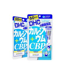 Viên uống canxi DHC Nhật Bản bổ sung Calcium + CBP