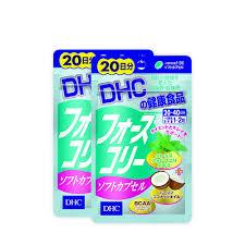 Viên uống giảm cân DHC Forskohlii Soft Capsule