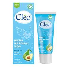 Kem tẩy lông Nách/chân/tay Cleo Avocado 50g