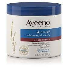 Kem dưỡng ẩm cho da khô Aveeno Skin Relief Intense Moisture Repair Cream
