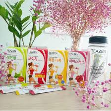 trà giảm cân Teazen