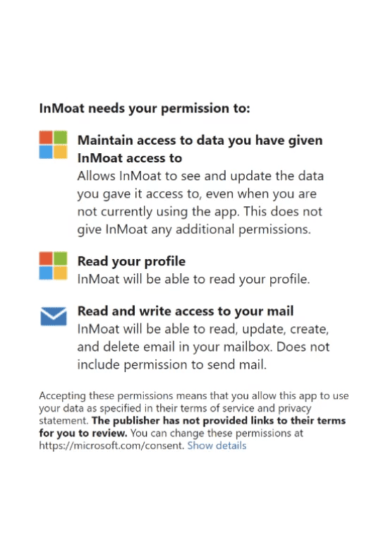 Outlook Microsoft Account Authentication