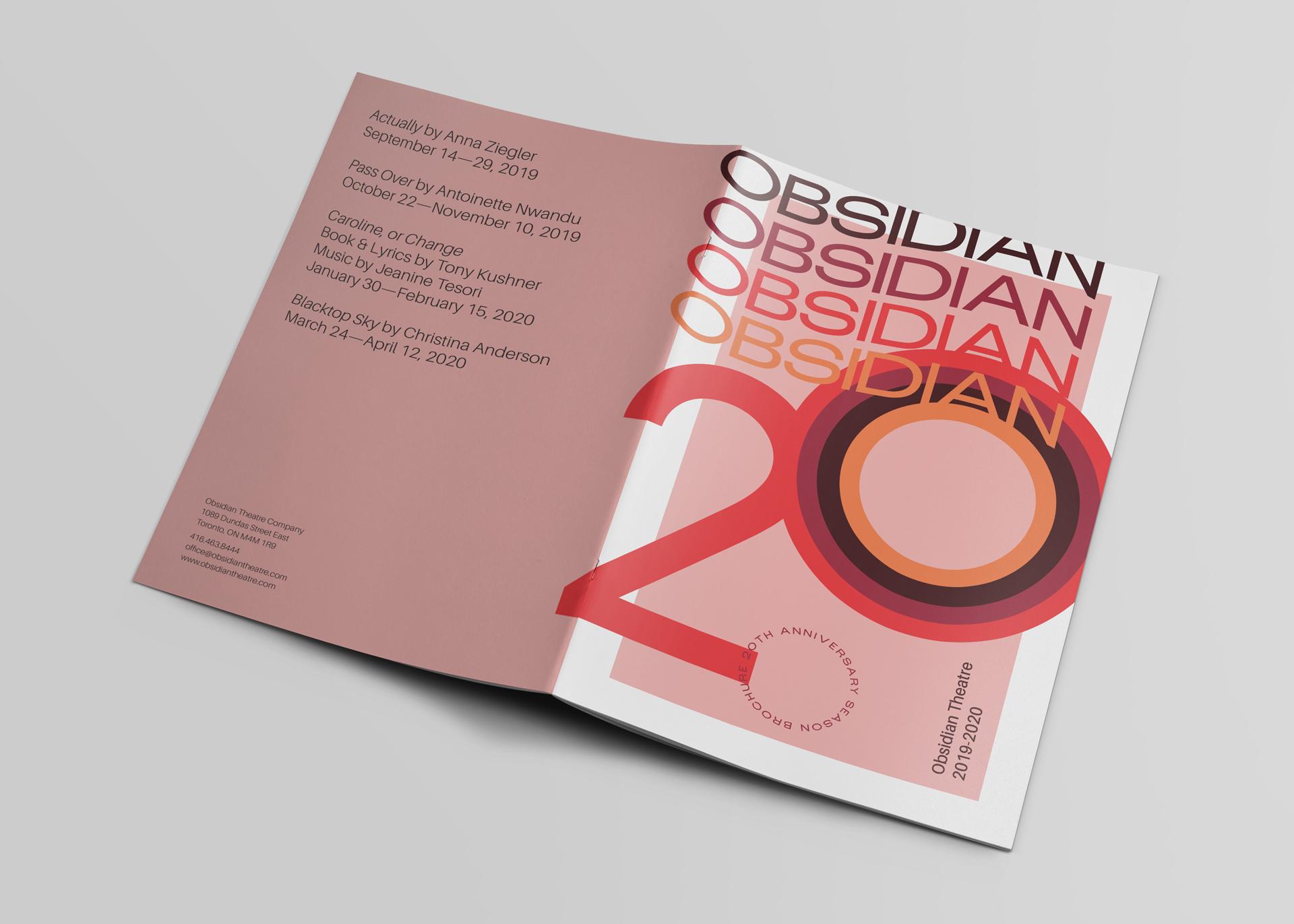Obsidian Theatre Company: 20th Anniversary