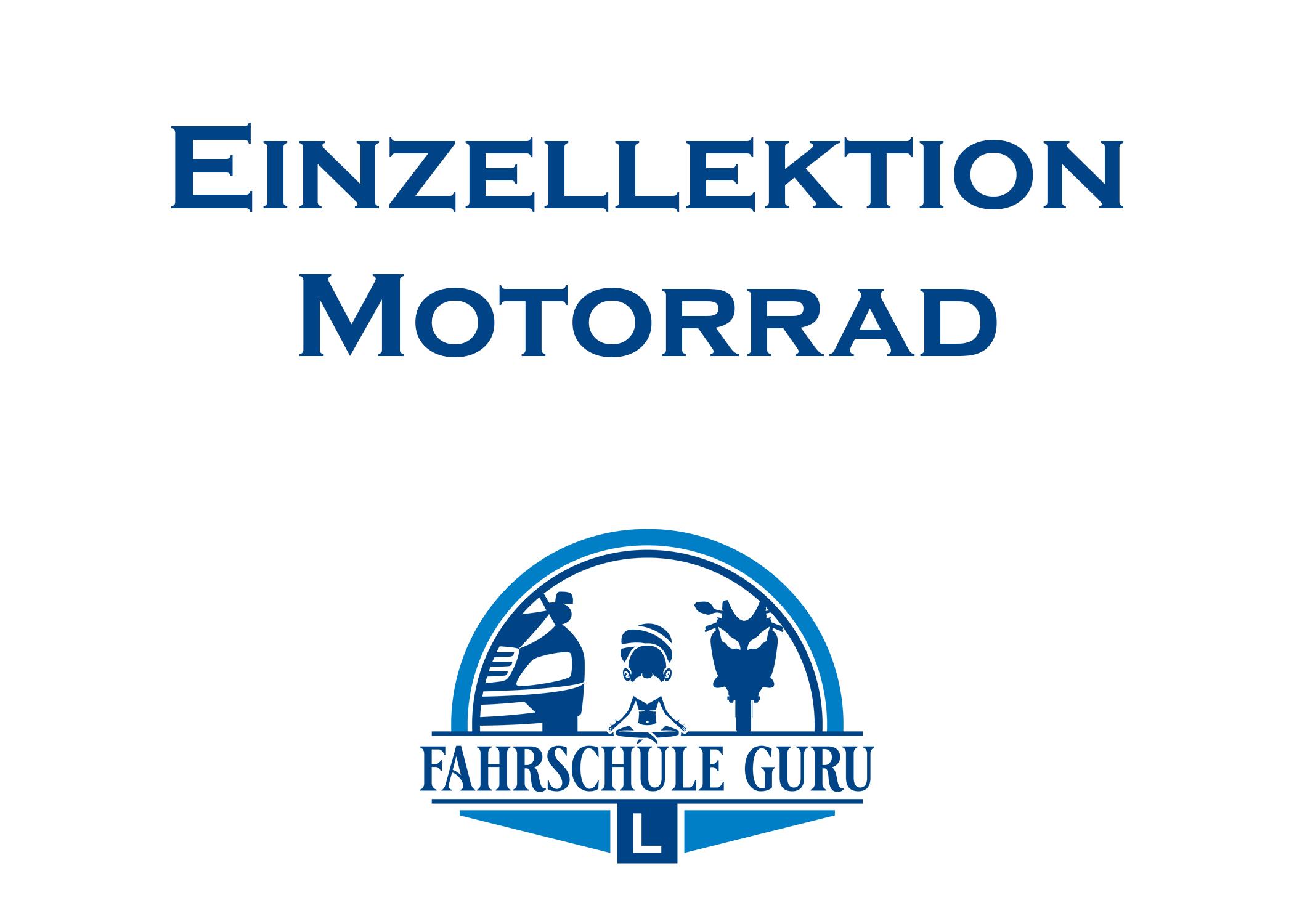 1. Fahrlektion Motorrad