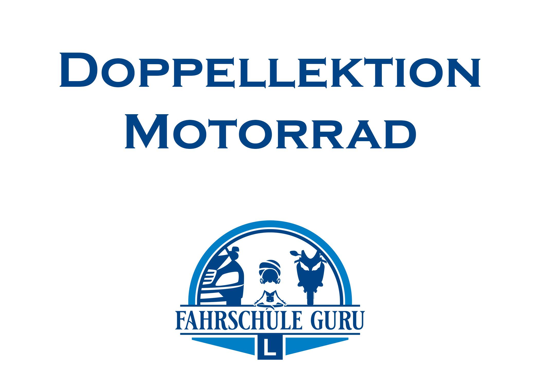 2. Doppellektion Motorrad
