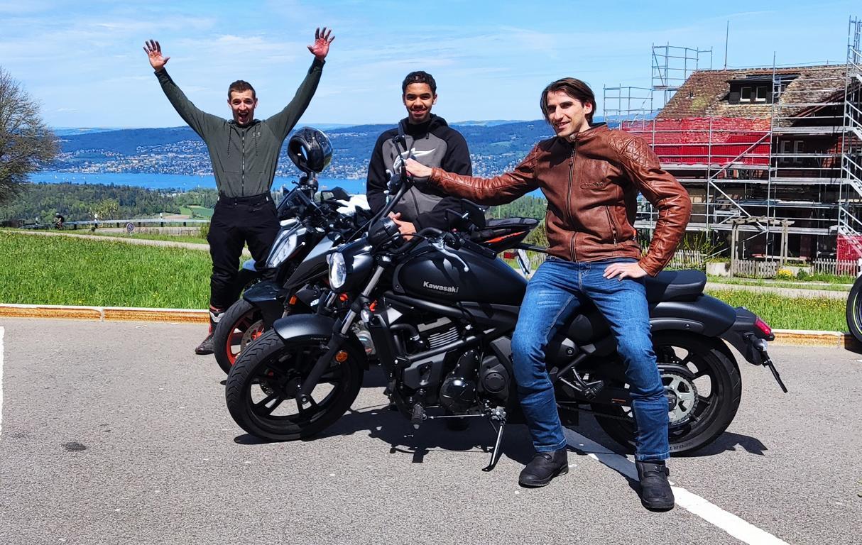 Motorrad PGS Grundkurs Zürich Fahrschule
