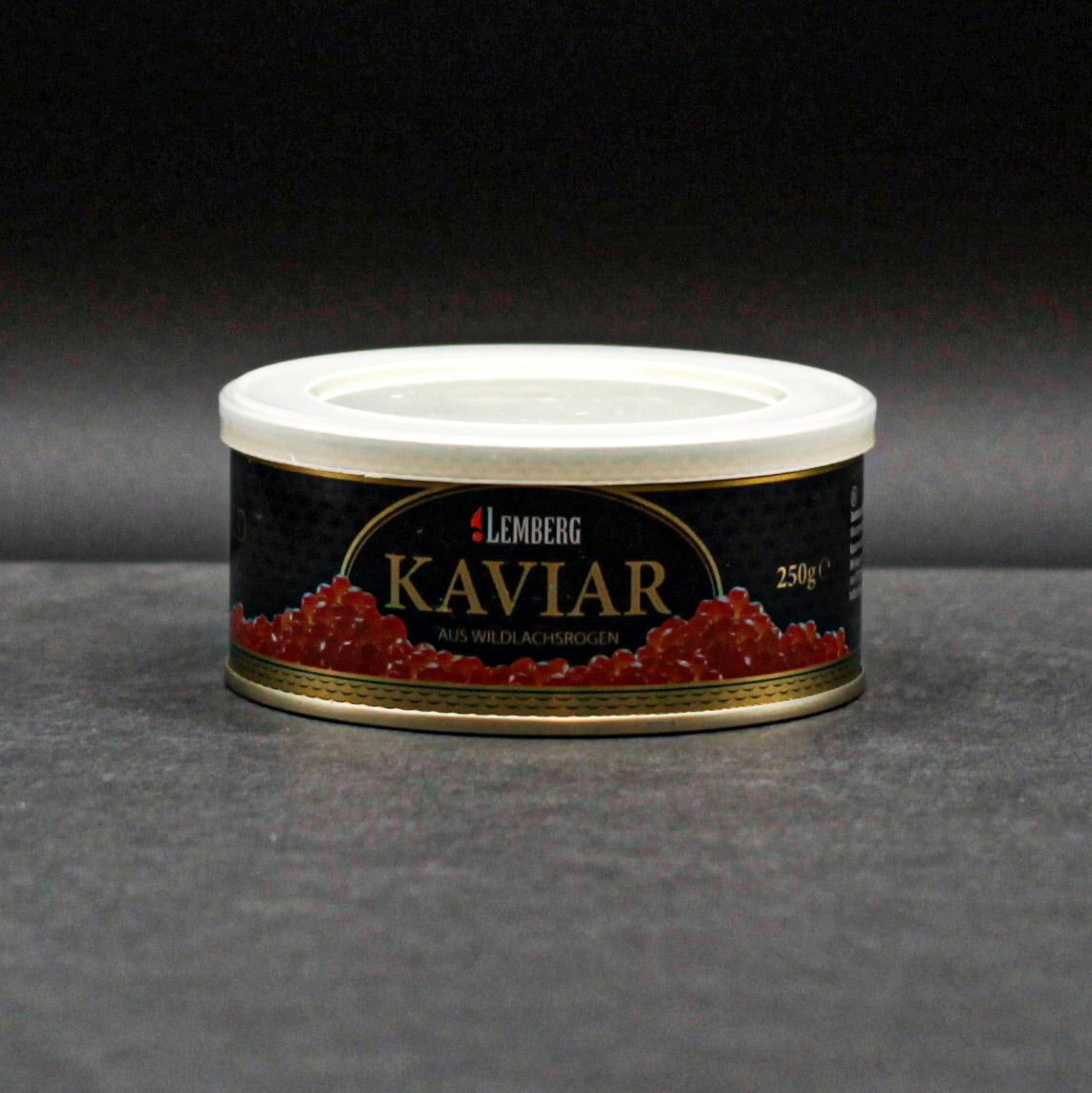 Kaviar aus Wildlachsrogen