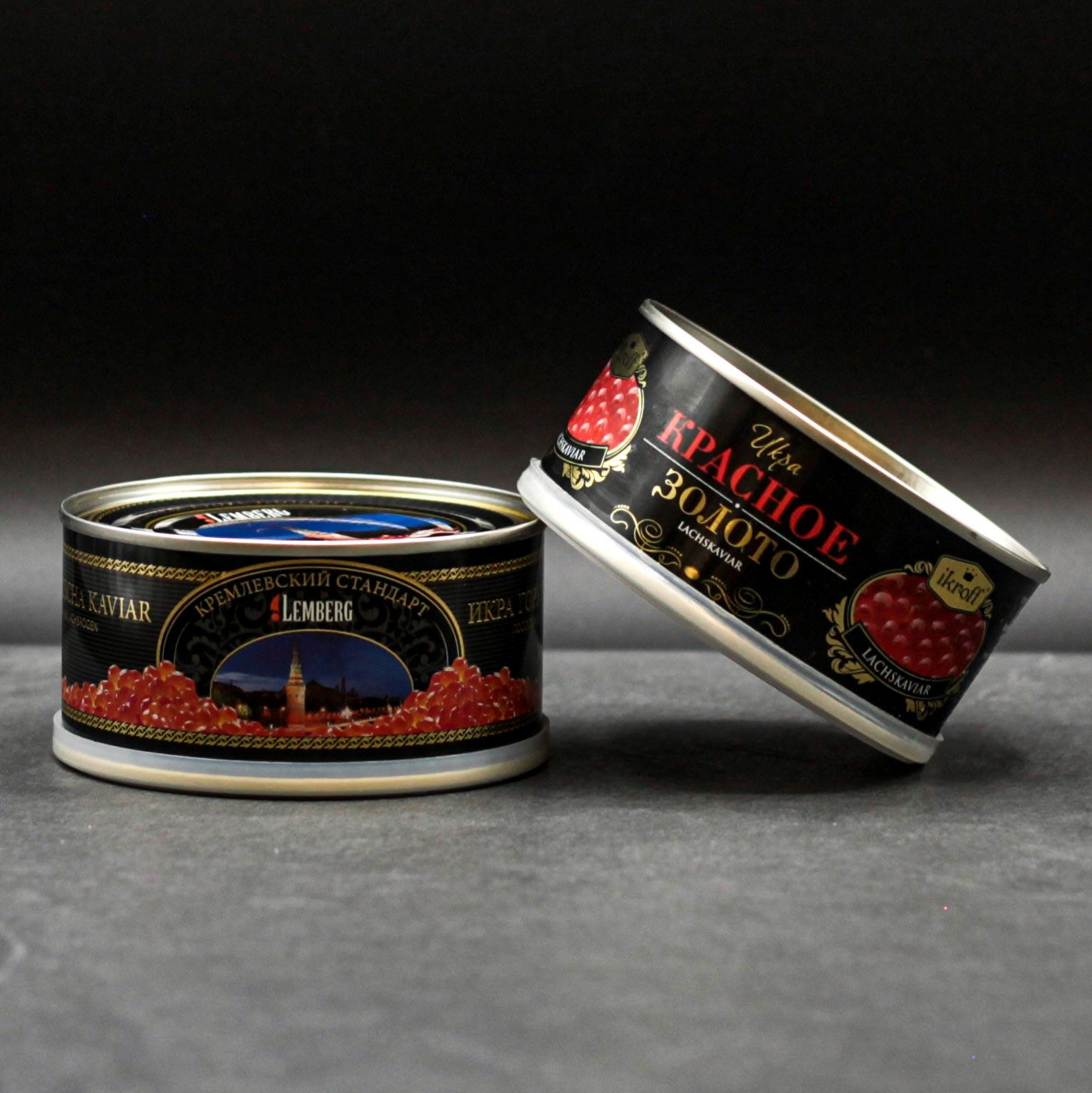 Lachskaviar aus Wildlachsrogen
