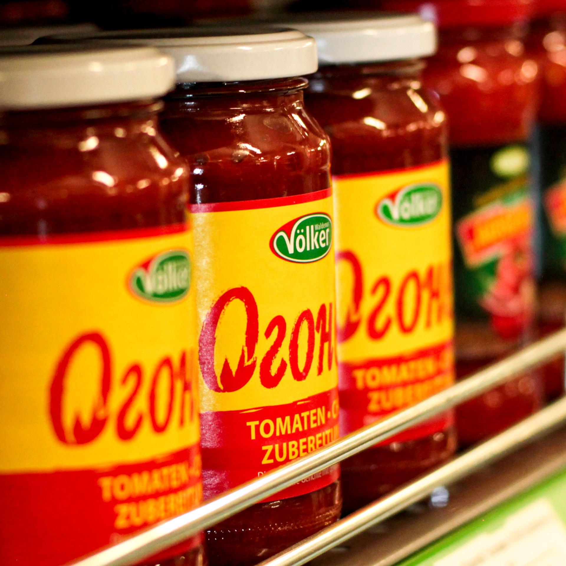 Soßenzubereitung mit Tomaten