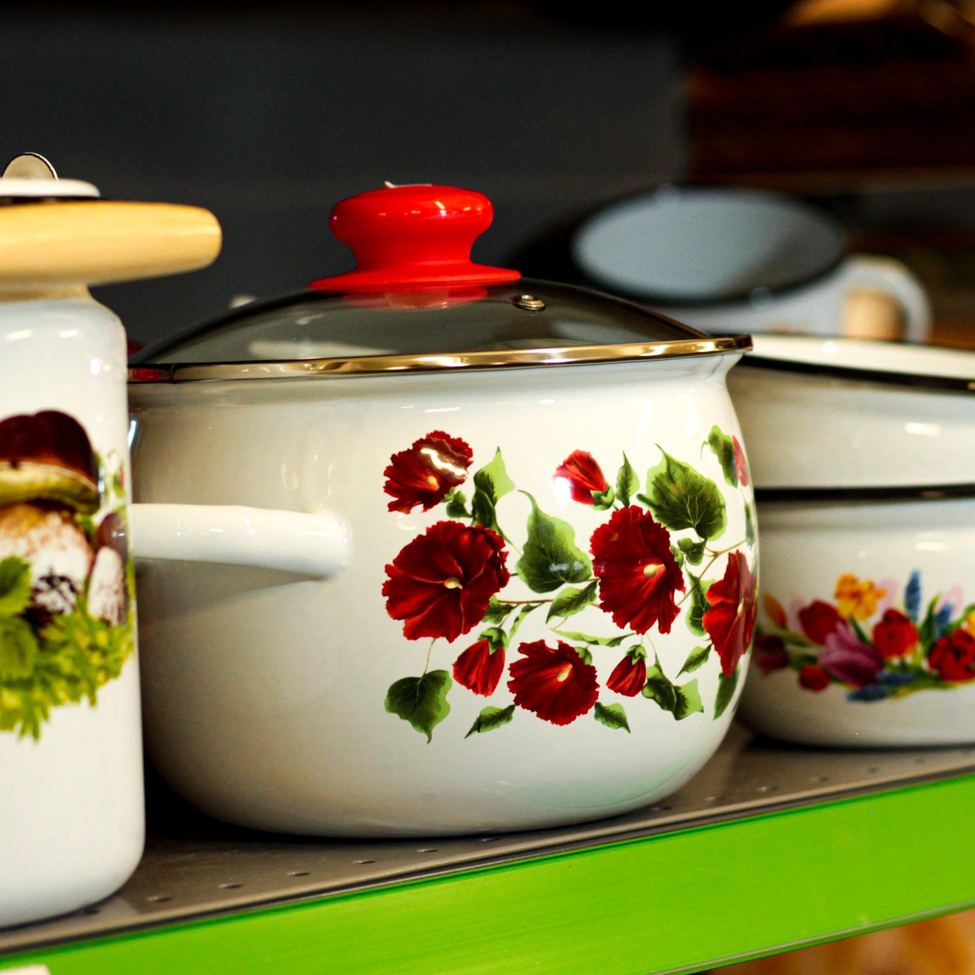 Traditionelle russische Haushaltswaren