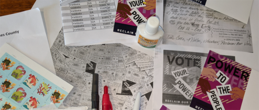 Vote Your Power Postcards