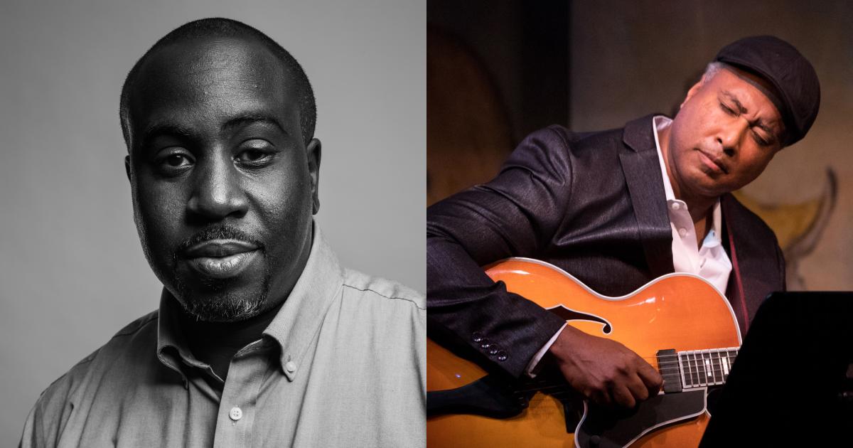 Headshots of Dr. Chenjerai Kumanyika and Bernie Williams