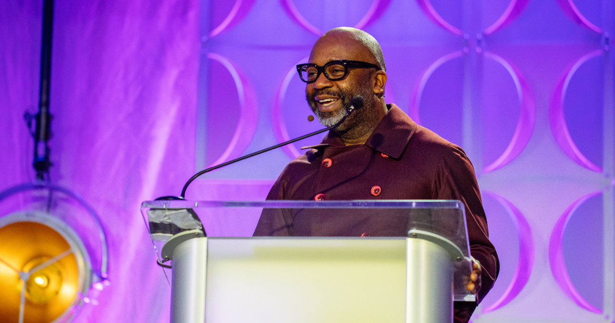 Theaster Gates on the Upswell 2019 Main Stage