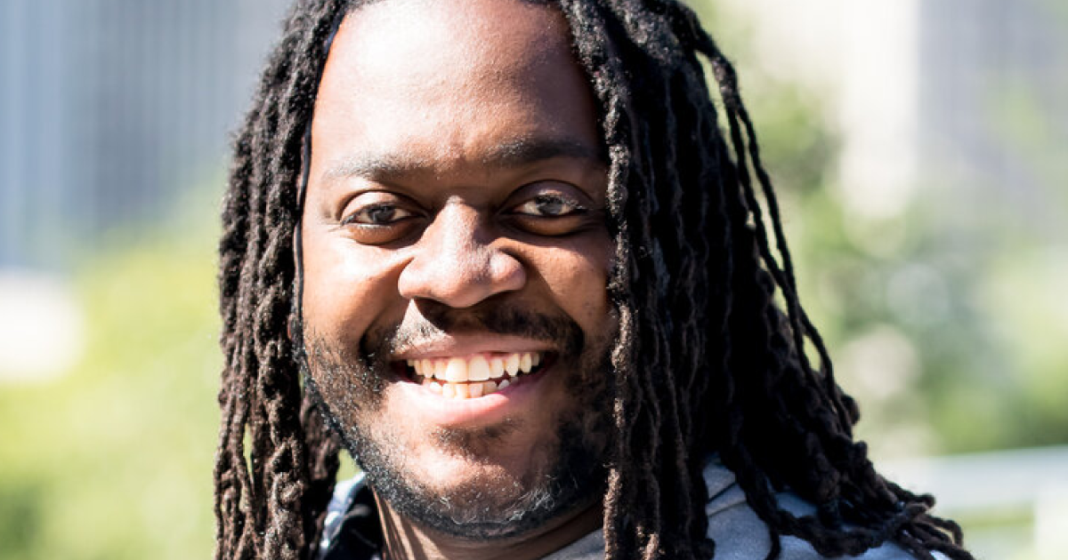 Headshot of Chef Claudy Pierre